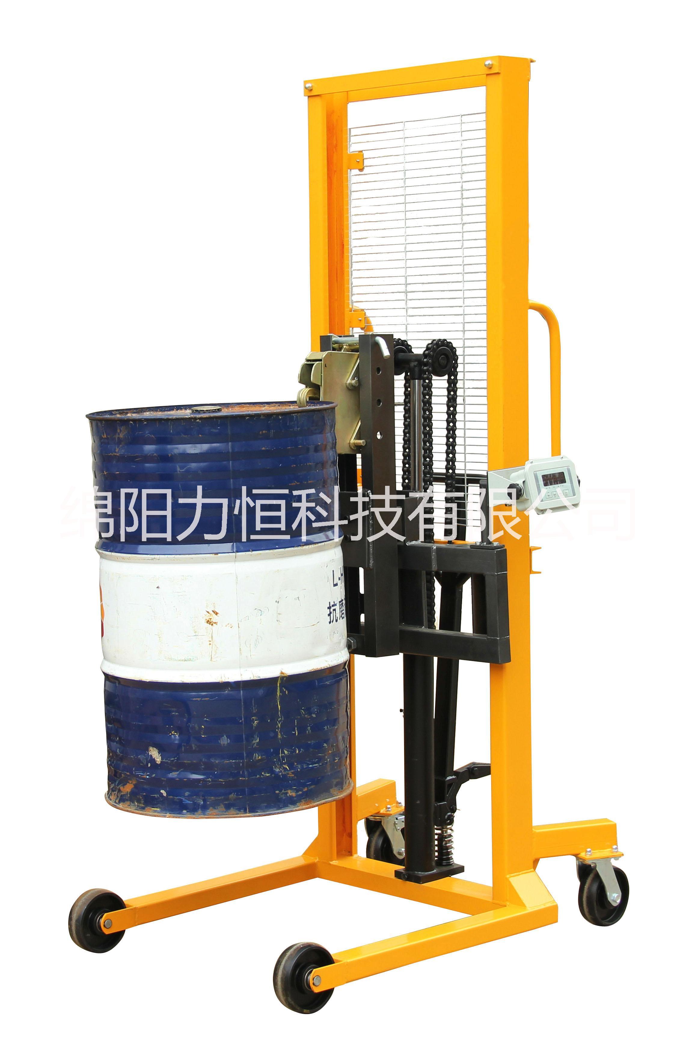 搬运油桶车 油桶升高车 手动液压油桶车 油桶搬运车