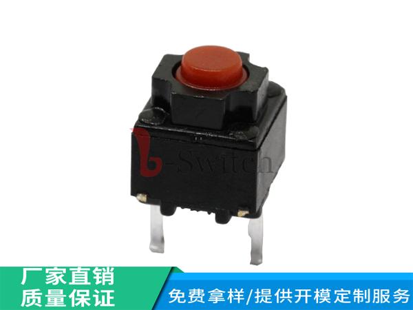 品赞直销 6.2*6.2无声轻触开关 型号GT-TC117X-H073-L10 高品质低报价