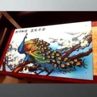 大型uv彩印国画装饰画对外加工