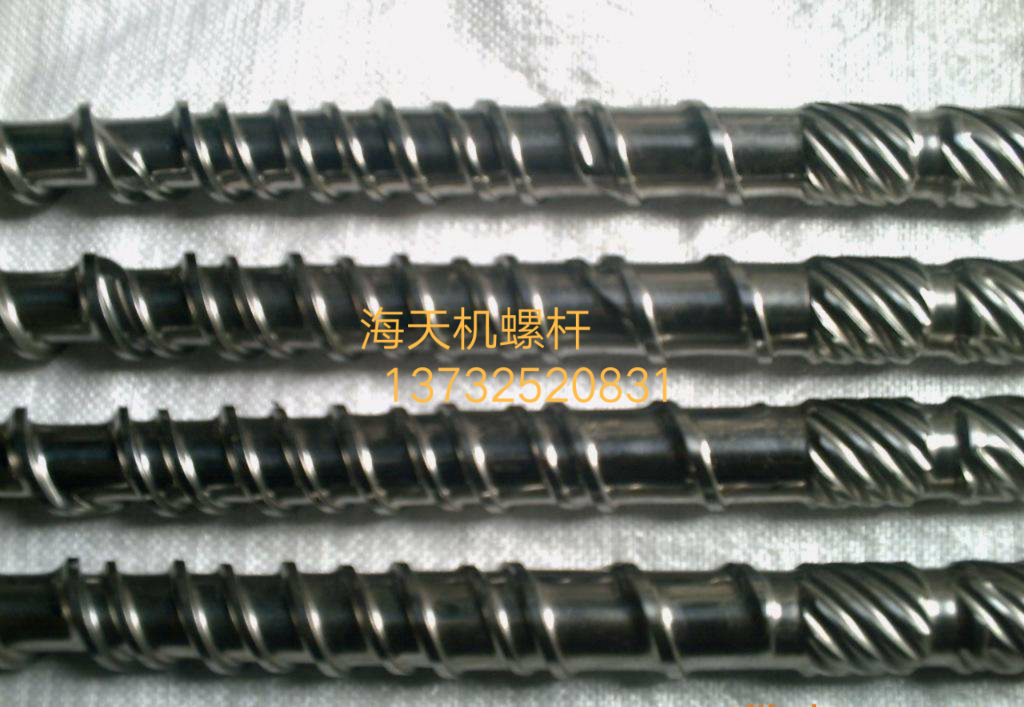 塑料机械配件(螺杆料筒)图片