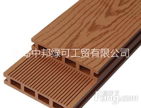 青岛批发木塑地板装饰材料销售