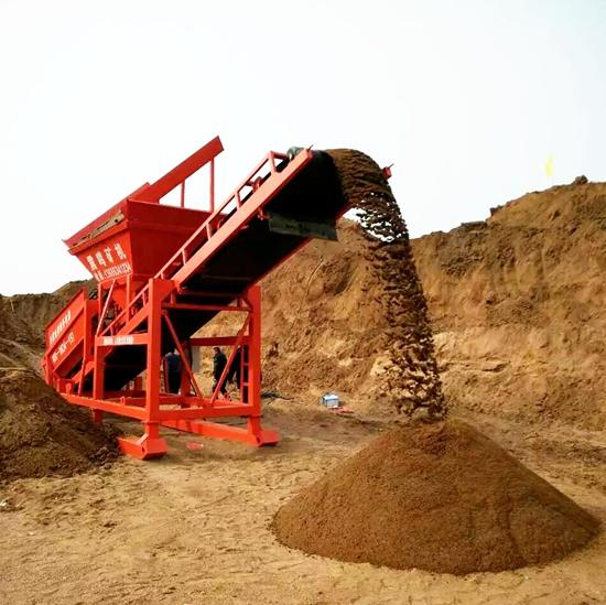 供应山东莱芜筛沙机械60型 筛沙机 滚筒筛沙机 沙场筛沙设备