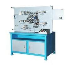 两色双面高速轮转商标印刷机 两色商标印花机