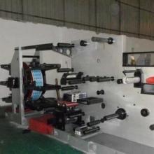 四色双面高速轮转商标印刷机 柔版商标印刷机 高速轮转布标印带机