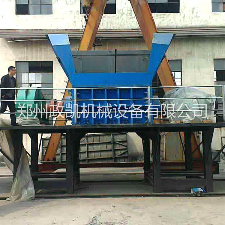 大型1200型双轴油漆桶撕碎机 废钢油漆桶破碎设备生产线厂家直销 现货出售