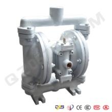 永嘉启正水泵供应QBY-40不锈钢气动隔膜泵工程塑料隔膜泵图片