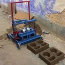 家用220v水泥制砖机空心砖砌块机操作简单图片