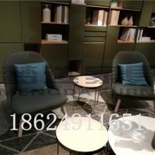 欧式休闲创意设计师沙发椅小户型客厅布艺单人酒店咖啡洽谈椅批发