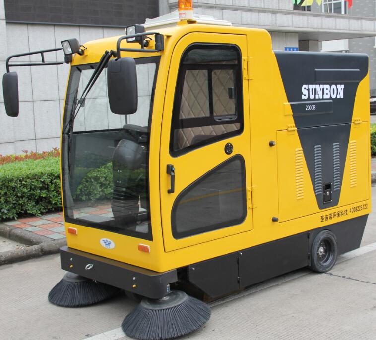 别墅电动扫地车客户的需求