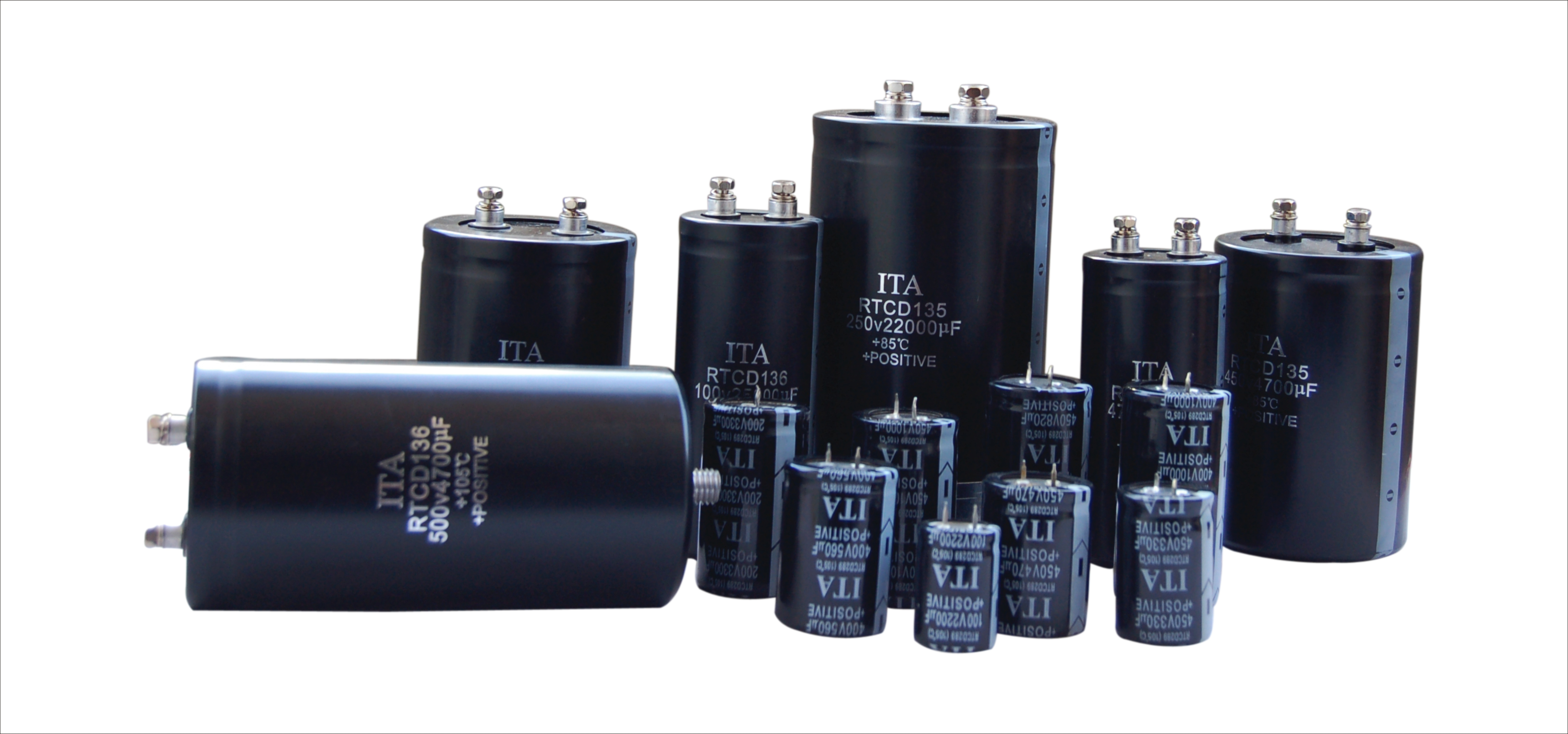 铝电解电容器-电解电容-铝电容厂家直销-螺栓电容-牛角电解电容-日田电容