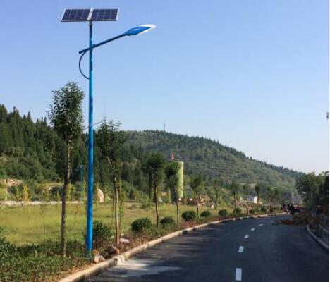 浙江台州市天台县始丰区8米60W太阳能路灯