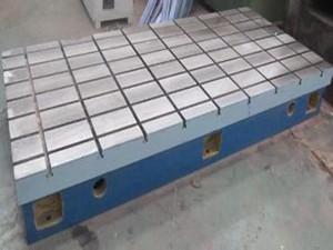 铸铁平台T型槽焊接平板铆焊试验钳工装配工作台拼接组合检验平台