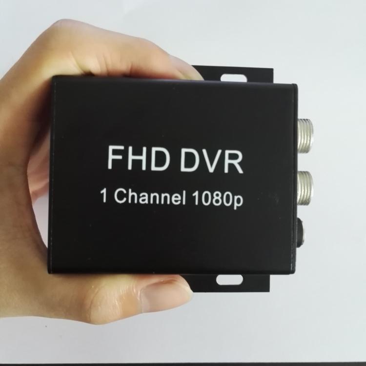 单路SD卡高清AHD车载录像机单路AHD录像机1路1080P同轴高清AHD/TVI车载DVR的士摩托车记录仪
