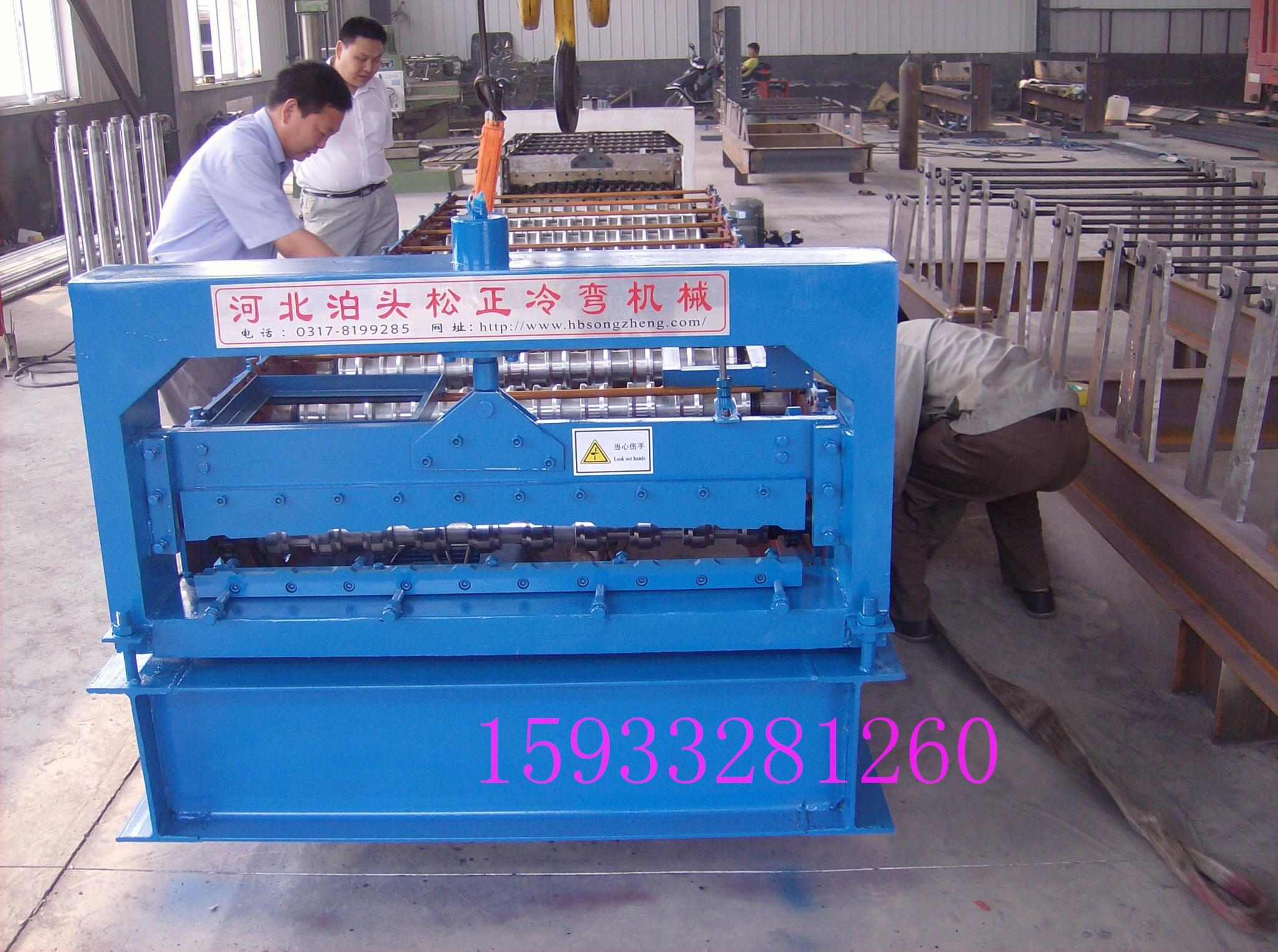 供应13-65-850水波纹屋面板型设备辊轧成型机,建筑圆管压方管设备,彩钢瓦机设备