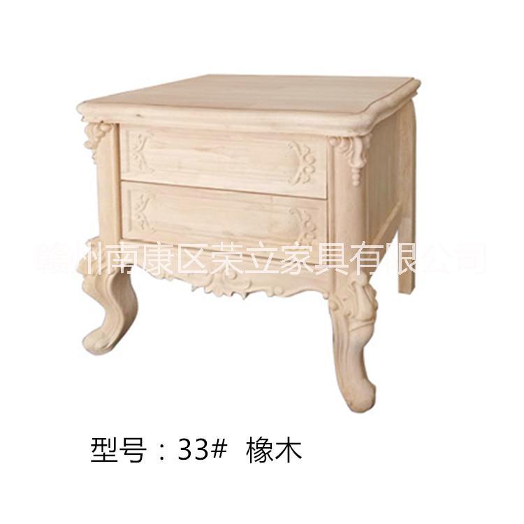 江西白胚欧式床头柜批发 欧室区床头柜厂家  江西床头柜欧式供应商  15170767634康