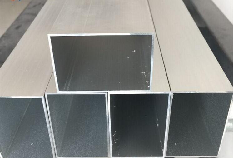 铝方管铝扁管 铝方管现货30*30mm 铝扁管40*20mm 黑色喷涂铝方管定制
