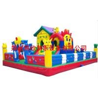 儿童滑梯蹦床组合小区小型游乐园大型幼儿园 充气室外户外滑滑梯
