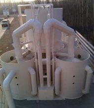 河南蓝碧重力式无阀精滤机、泳池水净化设备厂家
