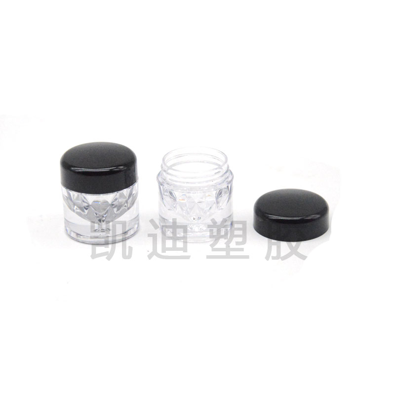 8157C眼影盒钻石系列 圆形散粉盒 精致时尚彩妆塑壳 厂家直销