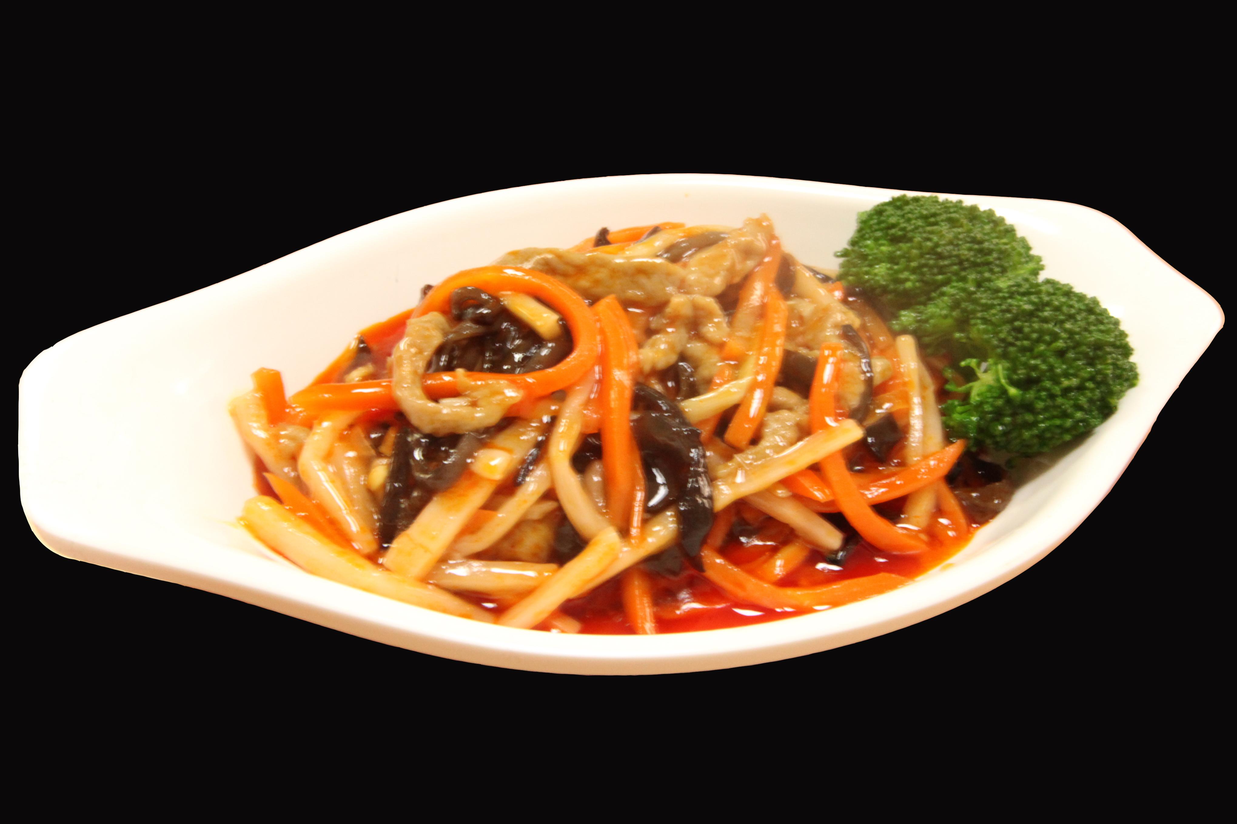 鱼香肉丝200g快餐料理包调理包 鱼香肉丝快餐料理包