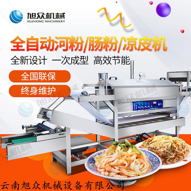 高效节能卷粉机机 凉皮机生产机 机械自动河粉机价格