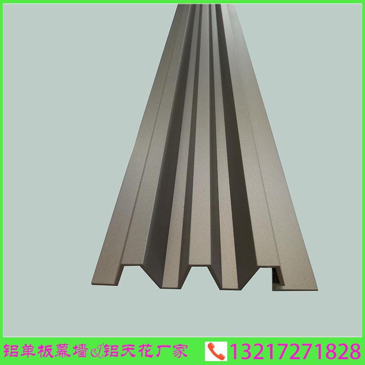 厂家直销波浪形长城板铝合金型材 规格可定制