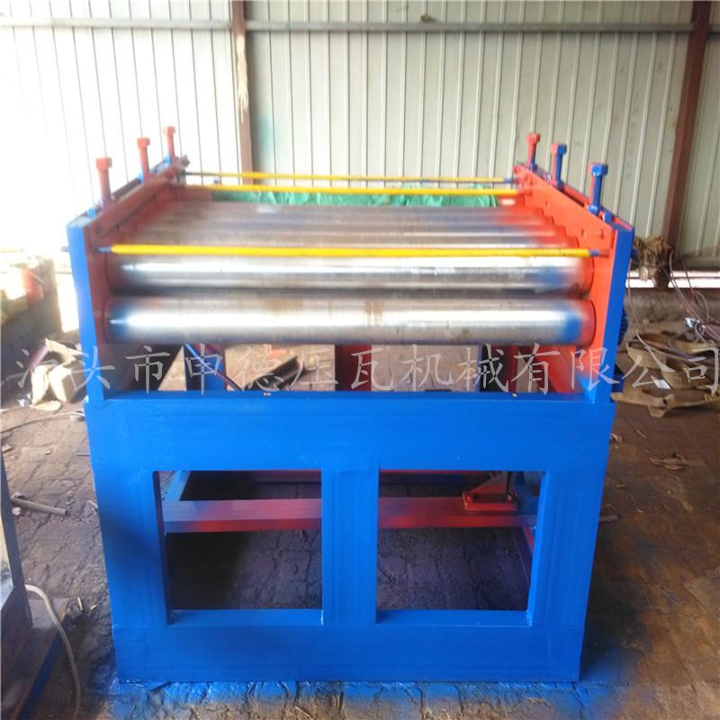 申德压瓦机厂家生产现货供应带钢卷板开平机不锈钢开平机2米全自动数控整平机厂家 开平机厂家