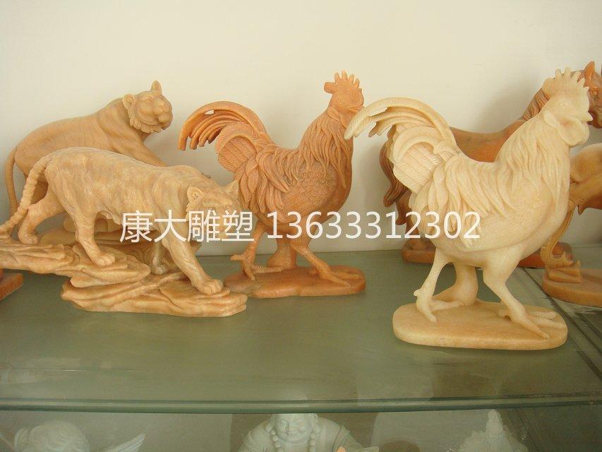 河北康大雕塑石雕 河北康大雕塑石雕12生肖雕塑动物