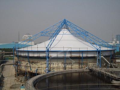河南环保膜污水池加盖厂家 环保膜污水池加盖   污水池加盖 河南环保膜污水池加盖厂家