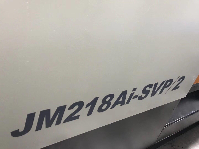 震雄JM218-SVP/2伺服机下模510mm,Ai电脑,电子尺控制,机铰无磨损,机器保养好。广东省二手注塑机批发市场