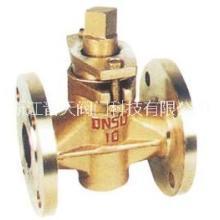 X43W-1.0T型二通全铜旋塞阀 X43WT型二通全铜旋塞阀图片