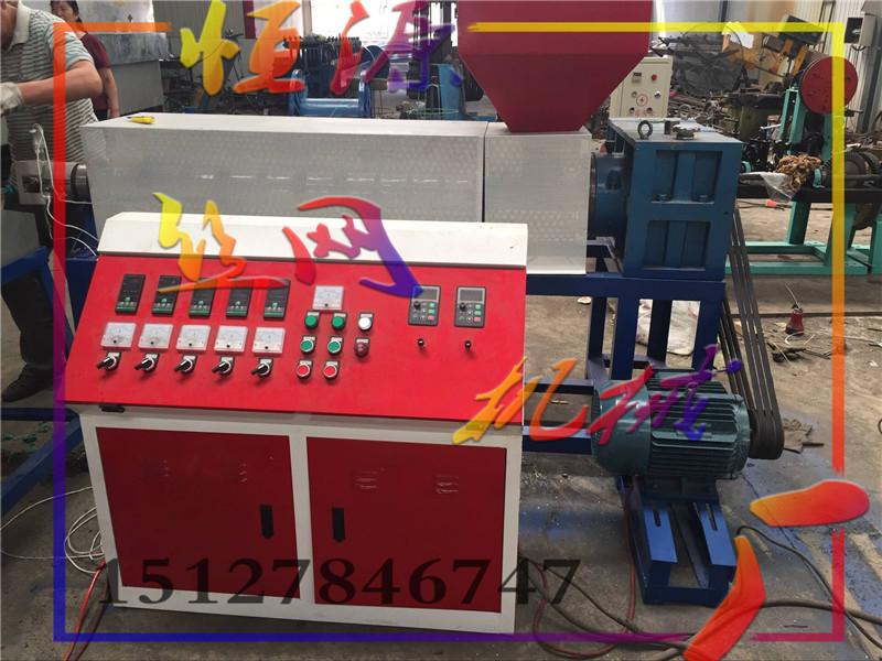 大鹏支架钢管包塑机  恒源机械