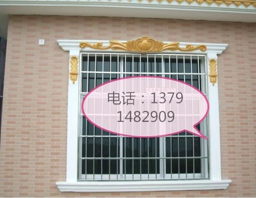 金乡GRC构件欧式窗套欧式罗马柱GRC装饰梁托盛莱建材 金乡GRC构件厂