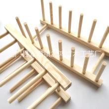 厂家直销 厨房整理置物架 松木餐具沥水架 品质保证批发