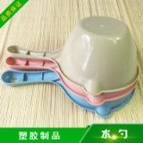 富滩塑胶制品供应水勺 优质塑料饭勺塑胶勺子批发 量大价优欢迎咨询