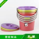 富滩塑胶制品供应水桶 塑料水桶家用手提塑胶水桶批发