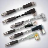 svles/西威联厂家直销重载连接器 圆形连接器 M8 M12 分配器 M8圆形连接器