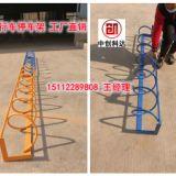 供应电动车自行车停放架价格 深圳自行车停放架图片
