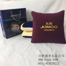 合肥抱枕定做 广告抱枕被定制绣字免费设计批发