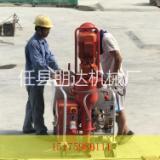 新型全自动石膏喷涂机的操作方法  建筑管道水泥甩浆机更加智能化