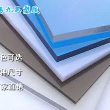 透明耐力板3mm含uv涂层全新进口料pc板加工定制1.22*2.44m九思厂家图片