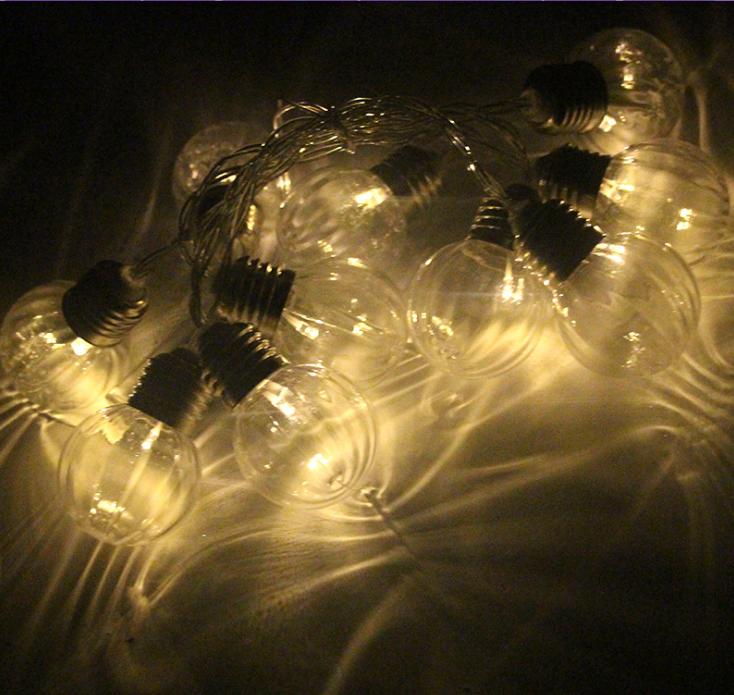 圆球造型灯串品牌供应商 灯具装饰批发价格 LED圆球节日装饰效果图   LED圆球造型灯串创意厂家直销