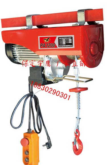 PA微型电动葫芦生产厂家 双钩双速电动葫芦提升机