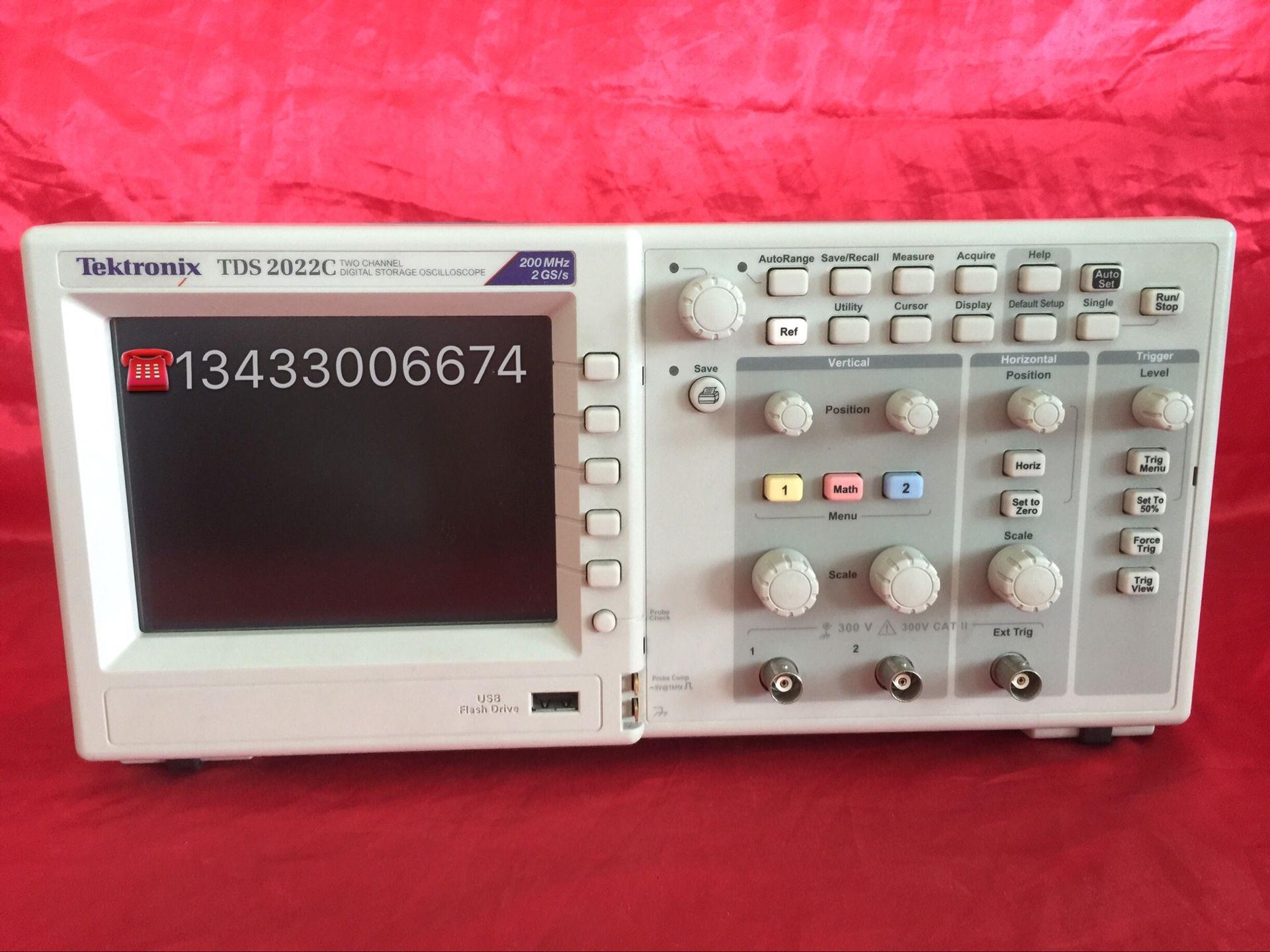 低价出售泰克/Tektronix TDS2022C数字存储示波器