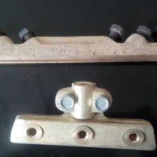 接线铜梗,电车线接线器,双沟滑线接线夹,胶木吊线器,集电器,钢铝接触线,钢绞线