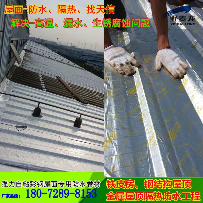 苏州彩钢厂房专用防水卷材 防漏30年18072898153