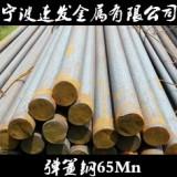 宁波速发弹簧钢65Mn圆钢 量大优惠