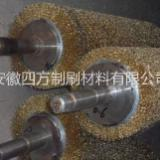 钢丝刷辊 除尘钢丝辊  安徽刷子厂 钢丝刷辊加工厂 定制各种钢丝刷