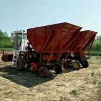 旺农青储机90 剪刀式牧草收割机 滚刀式青贮机 玉米秸秆青储回收机
