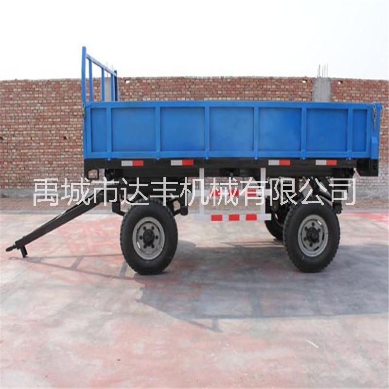 达丰机械专业生产各种规格农用拖车 拖拉机牵引自卸挂车拖斗 大中小型拖拉机斗